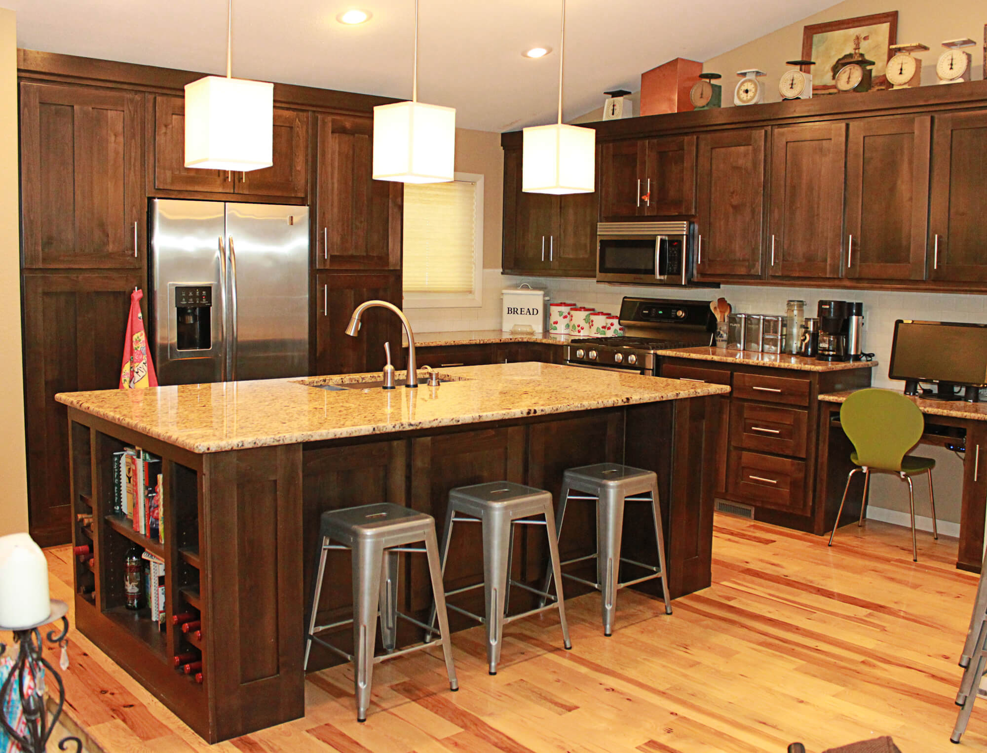 the cabinets plus clear alder kitchen cabinets
