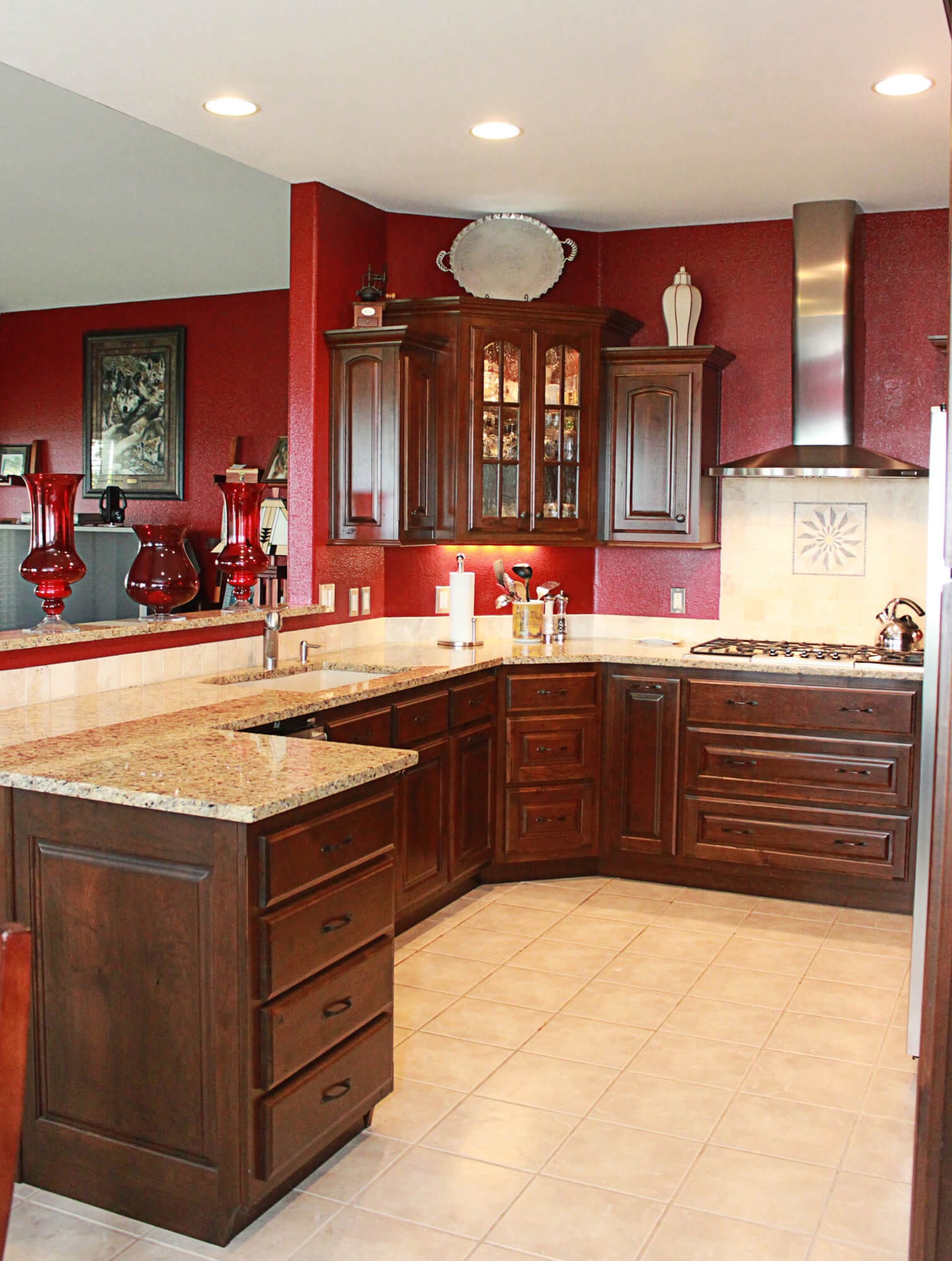 kitchen cabinet cherry the cabinets plus rustic cherry kitchen cabinets 18311
