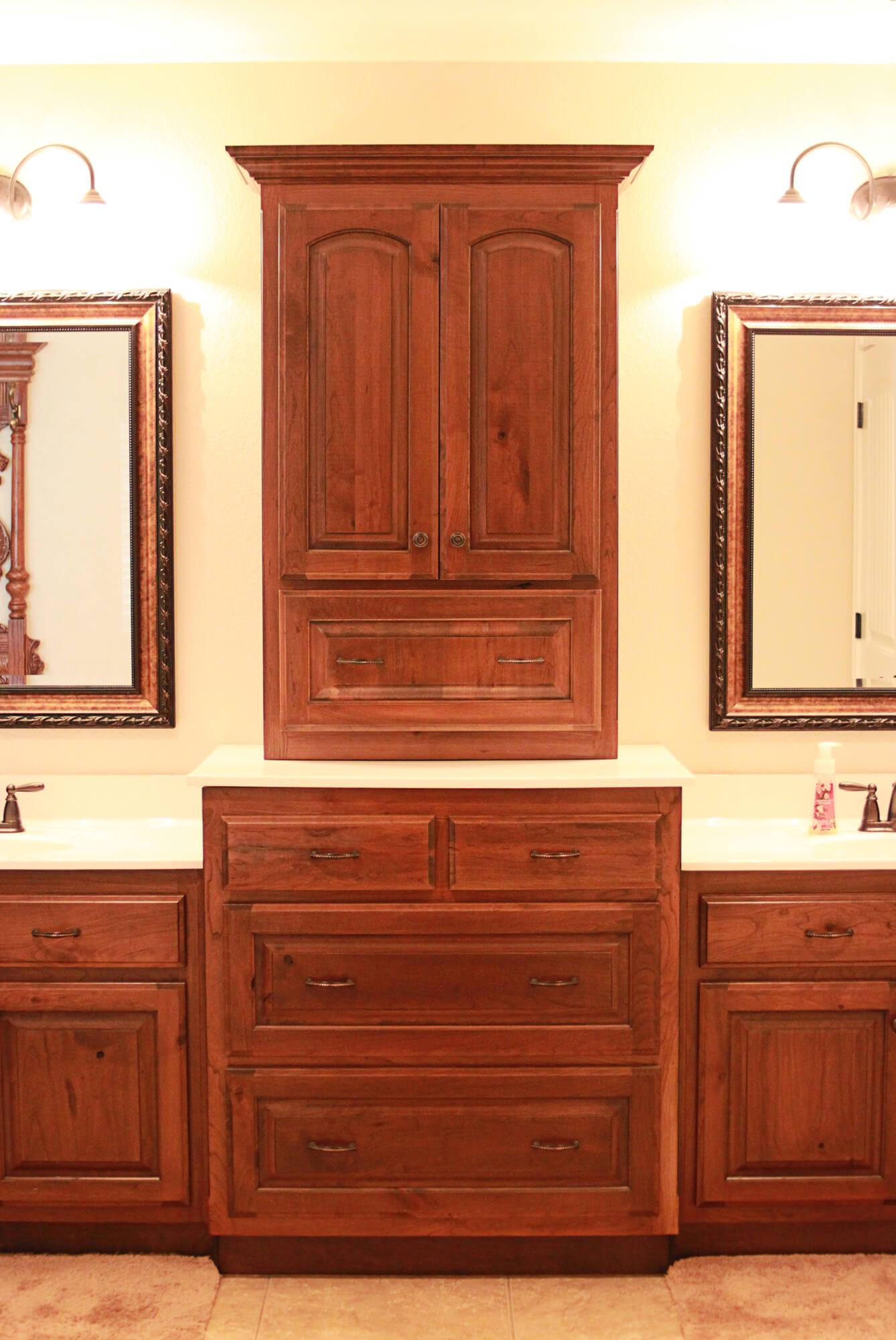 custom-bathroom-cabinet-rustic-cherry-1